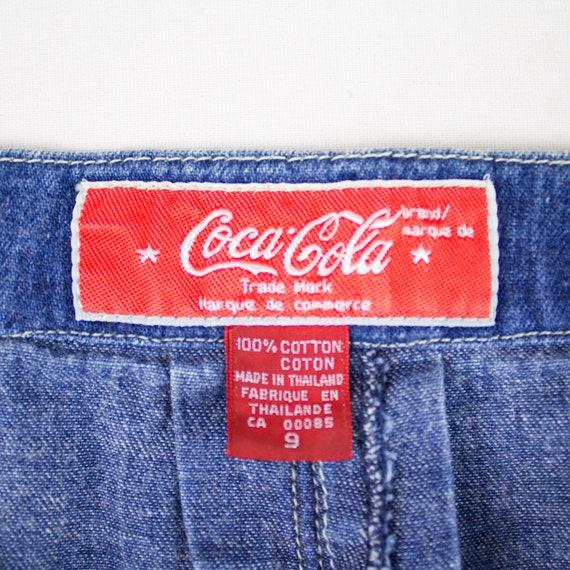 Vintage denim midi skirt, Denim Skirt, A-line Den… - image 10