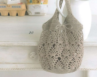 33 Crochet Bag Patterns - Crochet Bags - Crochet Patterns - Crochet Bag Pattern - japanese crochet ebook - PDF - digital download
