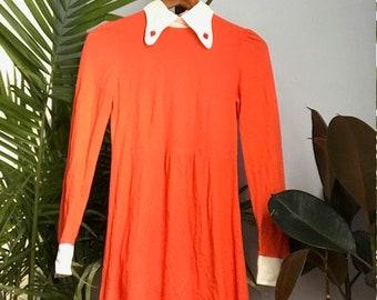 70s Strawberry Dress