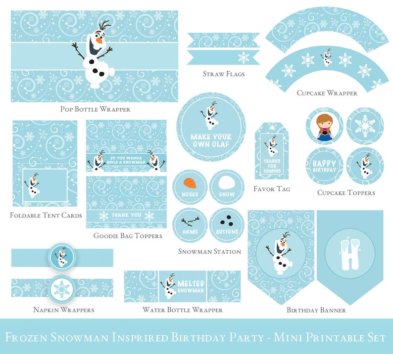 picture regarding Frozen Invite Printable identified as Frozen Birthday Printable Fastened, Olaf birthday Get together decorations, Olaf Celebration printable, Frozen celebration Printable Preset - INVITATION NOT Integrated