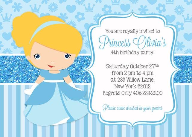 Cinderella invitation cinderella party invitation princess etsy image 0 filmwisefo