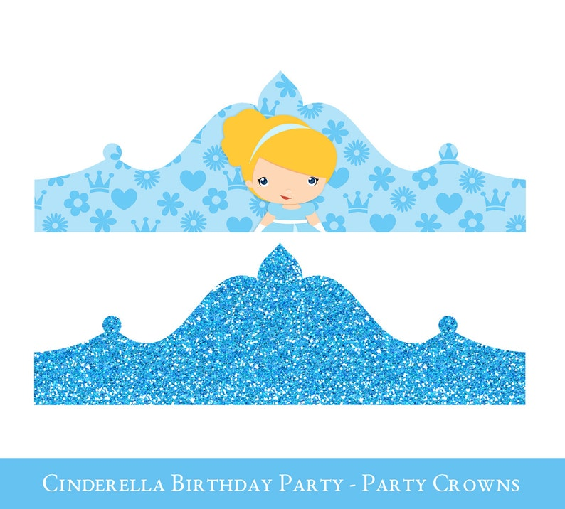 photo relating to Birthday Crown Printable called Cinderella Crown Printable, Birthday Crown, Crown Printable, Princess Crown, Princess social gathering hat, Cinderella Birthday