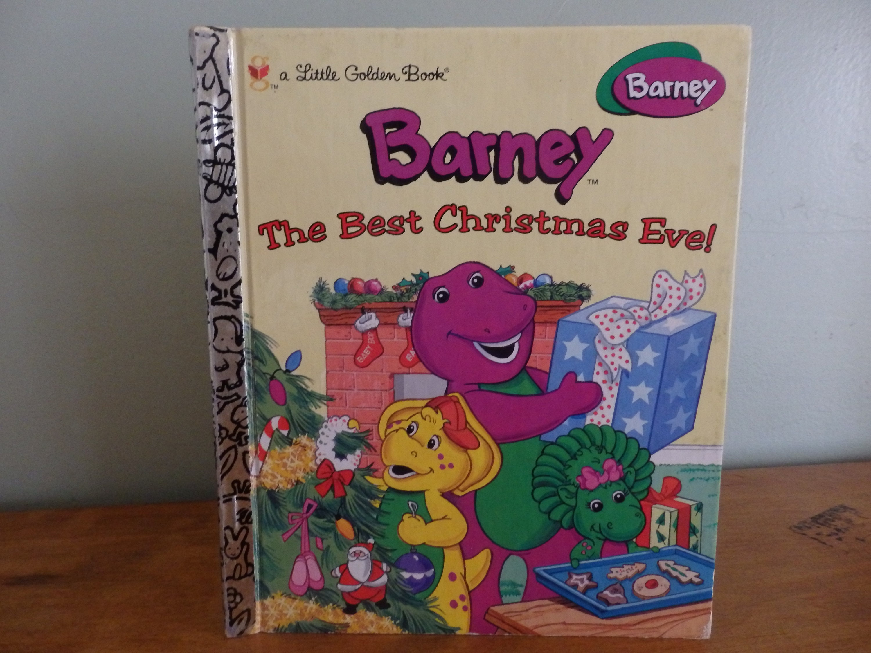 Vintage Little Golden Book Barney The Best Christmas   Etsy