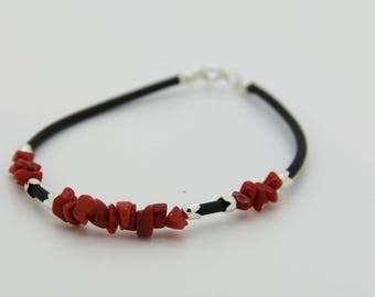 Full-bodied bh 40 genuine red coral bracelet