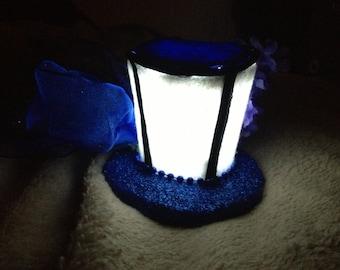 Light Up TARDIS Mini Top Hat