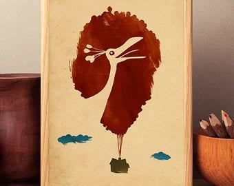 Walt Disney Pixar Up Minimalist Movie Poster