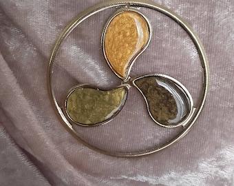 moiré gold pendant colors fall 60 mm