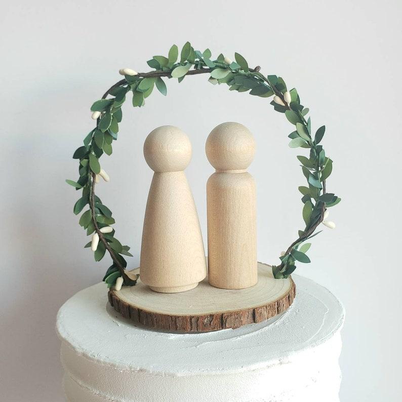 Cake Topper Cake topper base for peg dolls cake topper people base.