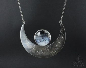 Goddess necklace choose your stone - Handmade C0470