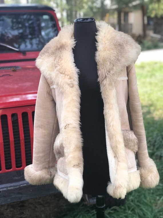 Overland Sheepskin Coat Jacket