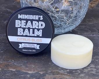 CITRUS BLISS Beard Balm, Beard Conditioner, Beard Tamer