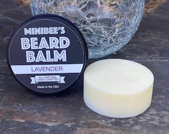 LAVENDER Beard Balm, Beard Conditioner, Beard Tamer
