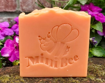 ORANGE GRAPEFRUIT Shea Butter/Coconut Milk Soap, Handmade Soap, Cold Process Soap, Moisturizing
