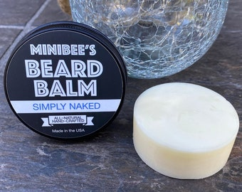 SIMPLY NAKED Beard Balm, Beard Conditioner, Beard Tamer
