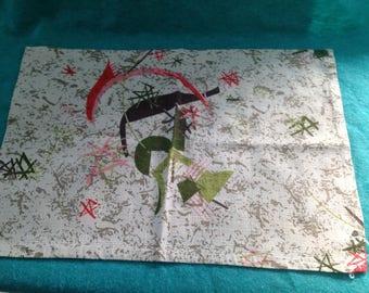 Vintage bureau cloth