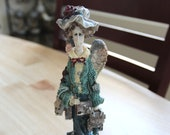 Born to Shop Lady Figurine - Lizzie - Boyds, Bears and Friends - Folkstone Collection - No. 56 of 169