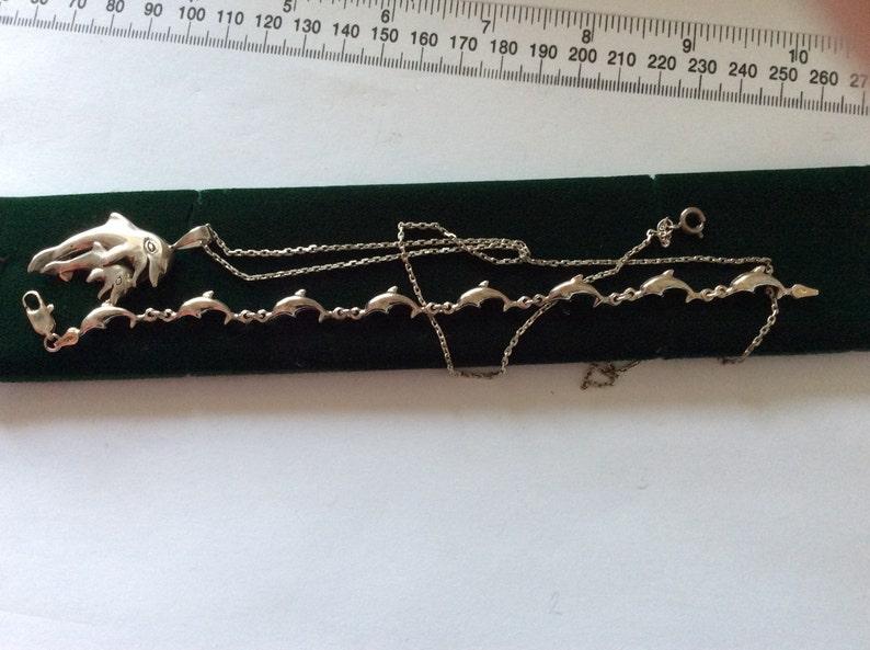 pendant sold Sterling Silver Dolphin bracelet