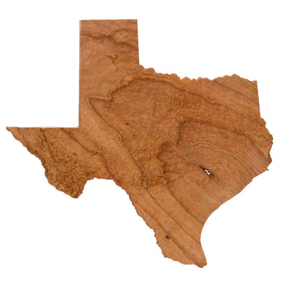 Wooden Topographic Map Of Texas 3d Map Wood Geographic Wall Etsy