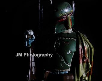 Star Wars Boba Fett Digital Photograph