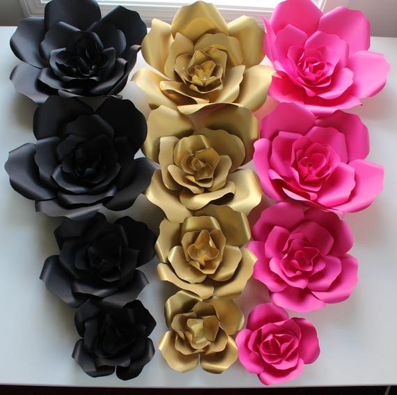 Sale Price Kate Spade Paper Flowers Wall Decor Backdrops Weddings Showers Decoration