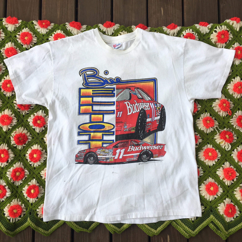 08998238ee704 1993 Bill Elliott 11 Budweiser Shirt Vintage 90s NASCAR | Etsy