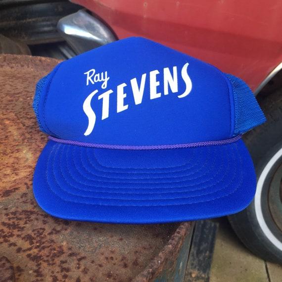 6370e036636 Ray Stevens Trucker Hat Vintage Country Music Hat Royal