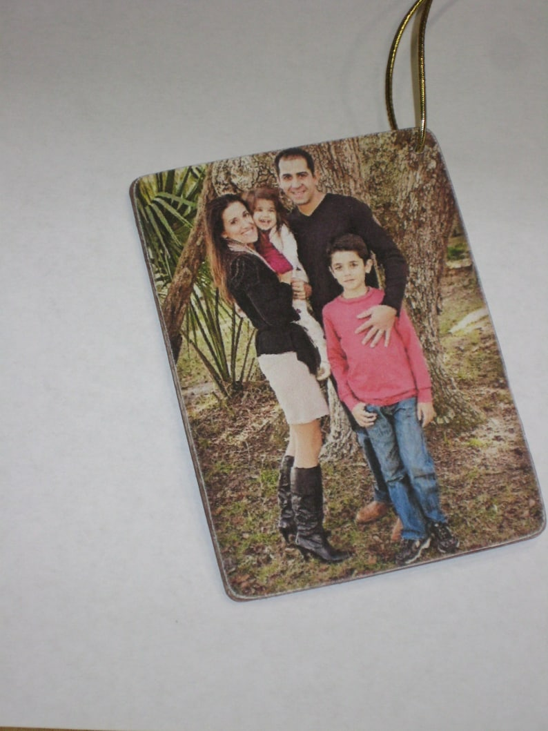 Personalized Ornaments -Memories Ornaments Christmas Tree Decoration Christmas gift idea . Family Ornaments Pictures Ornaments