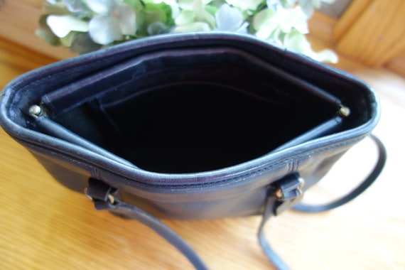 Classic Vintage Coach Framed Pouch Black USA 9996 - image 8