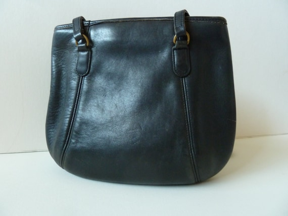 Classic Vintage Coach Framed Pouch Black USA 9996 - image 5