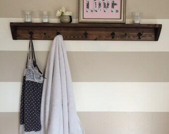 Shelf And Hooks Etsy