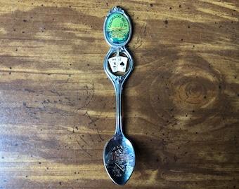 Vintage Colorado Travel Souvenir North Pole Colorado Souvenir Spoon Charm Necklace Travel Souvenir Charm