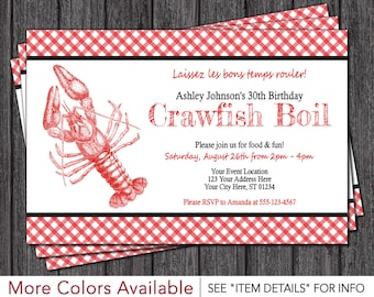 Crawfish Boil Shrimp Seafood Any Event Or Color Chevron
