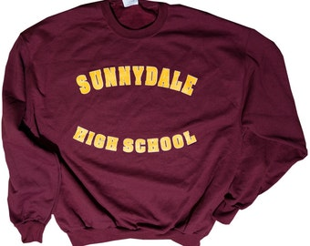 Buffy the Vampire Slayer Inspired Sunnydale High Sweatshirt
