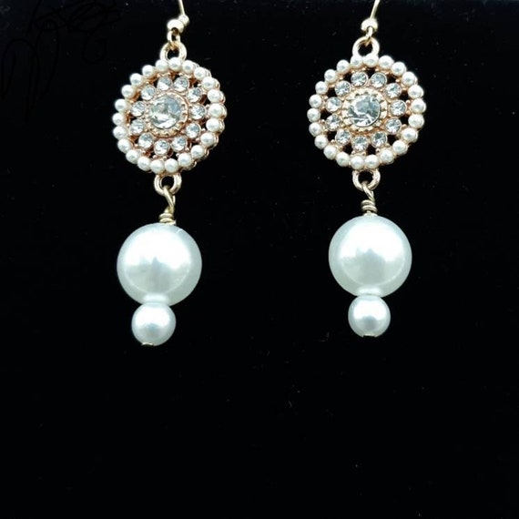White Nasa Shells W  Faux Pearls /& Pink Crystal Beads Jewelry Set                          New