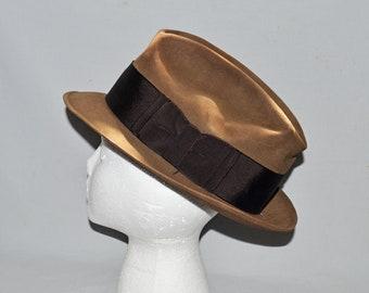 ba99ae3ff Homburg hat | Etsy