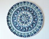 PATTERN - Overlay Crochet Mandala - Dandelion round mandala - instant download