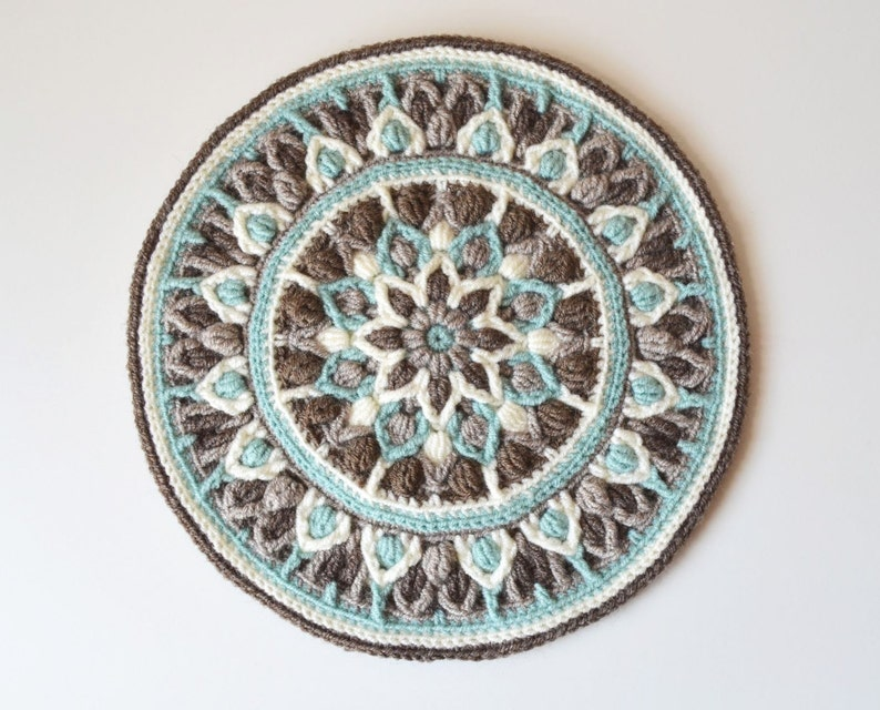Uncinetto Presina Mandala Pattern Download Immediato Di Etsy