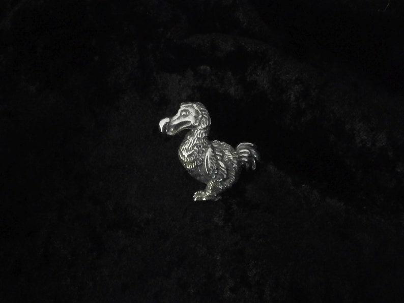 Dodo Badge Pewter Pin Badge Prehistoric Bird