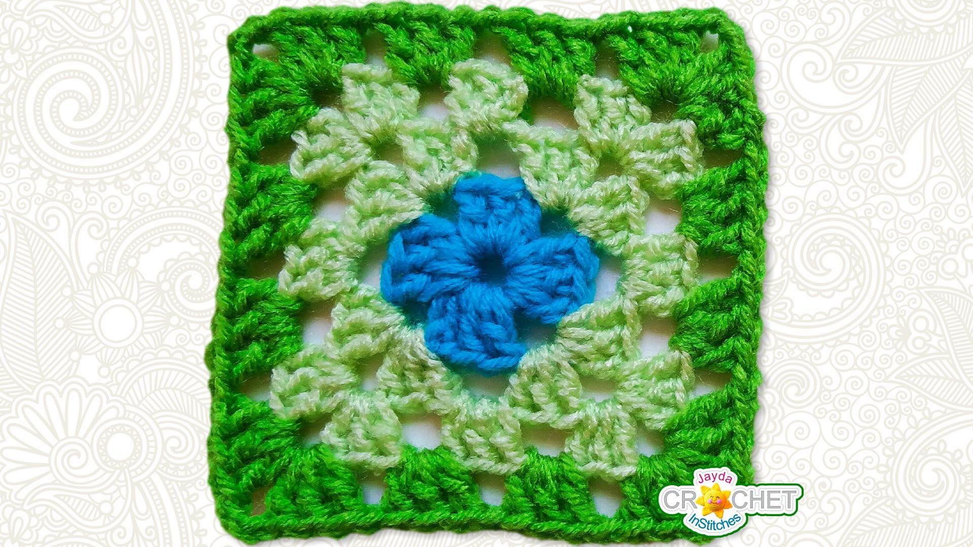Crochet Classic Granny Square Pattern Pdf Pattern Includes Etsy