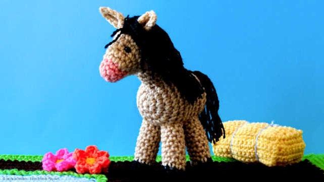 Amigurumi Horse Crochet Pattern Super Adorable Stuffed Toy Etsy