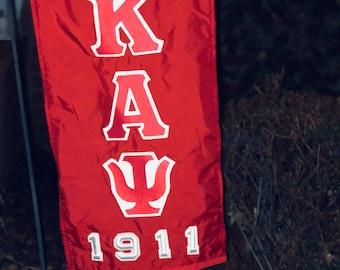 Greek Yard Flag Kappa Alpha Psi Divine Nine