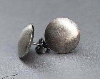 Minimalist Studs, Modern Jewelry, Round Dots, Post Earrings, Handmade Earrings, Sterling silver, Silver Stud Earrings, Dainty Earrings