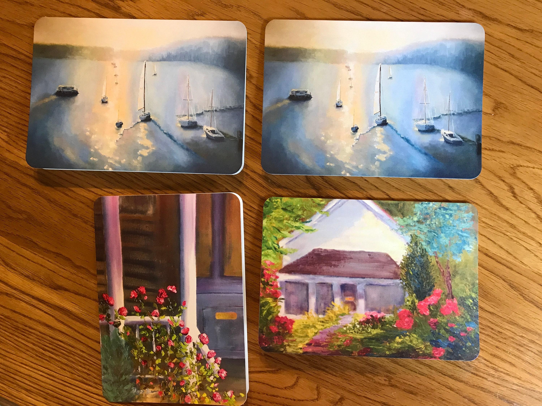 Blank Cards Art Notecard Sampler Bloomington Indiana Original Art
