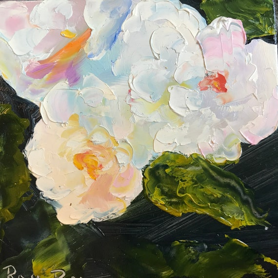 White roses, yellow roses, rose painting, summer flowers