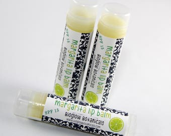 Organic Lip Balm Lovers Lime Margarita Shea & Cocoa Butter Summer Hemp Oil Aloe Moisturizing Chapstick Gift baskets, teacher favors