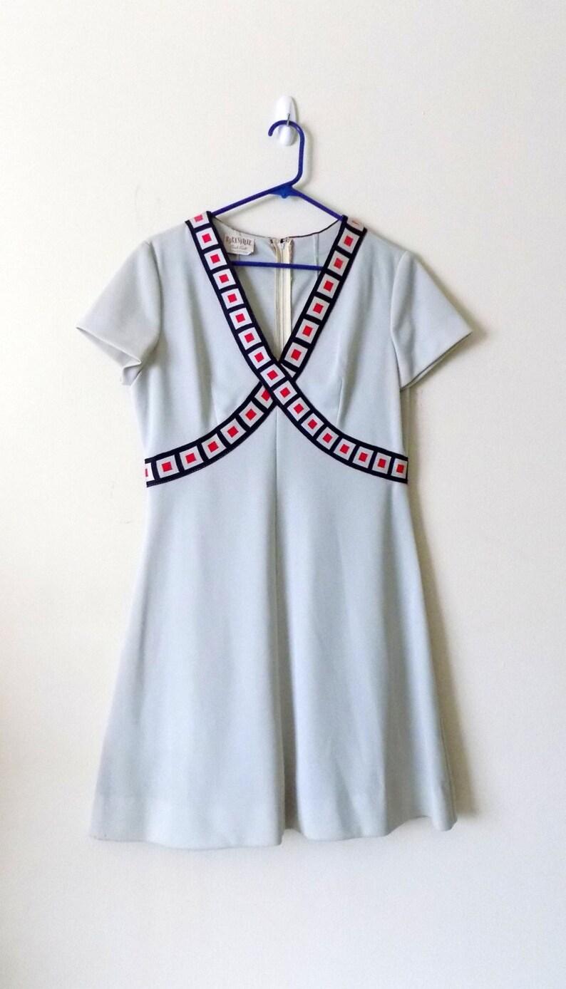 2049994c30e8 60s Americana Dress 1960s Barnsville Park Suite | Etsy