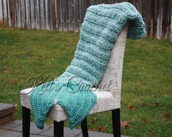 Häkelanleitung Für Meerjungfrau Decke Meerjungfrau Decke Etsy