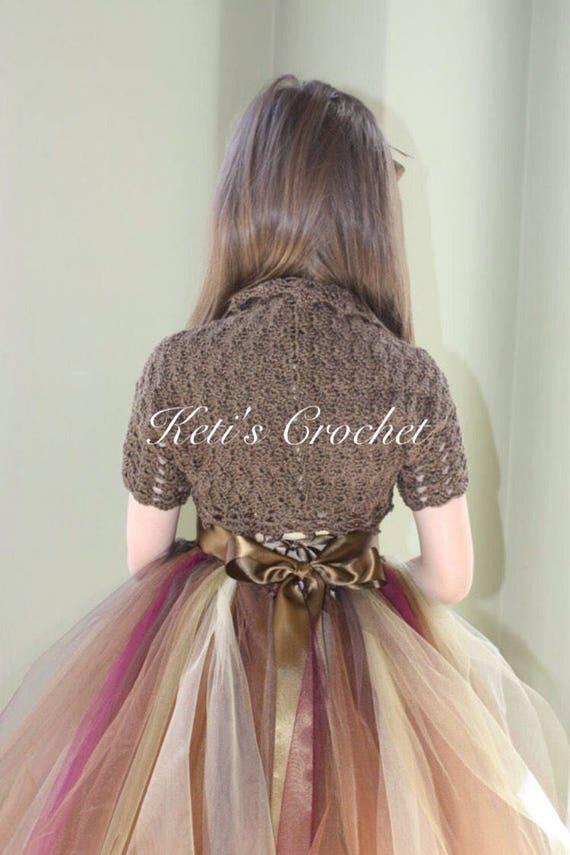 Häkeln Sie Bolero Cotton Crochet Bolero Erwachsene Bolero | Etsy