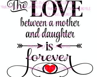 Love Between Mother Etsy