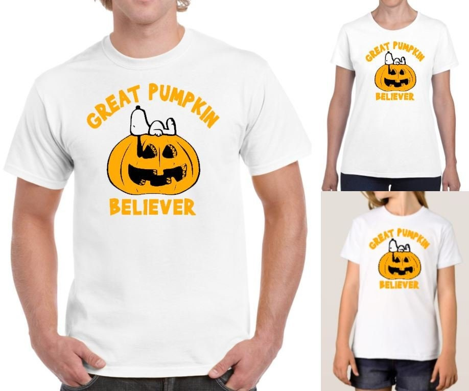 d37da91b Great Pumpkin Believer Peanuts Snoopy Charlie Brown Fall | Etsy